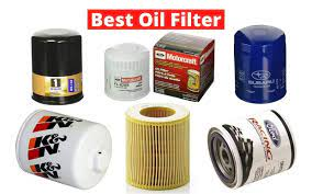 top oil filters for cars