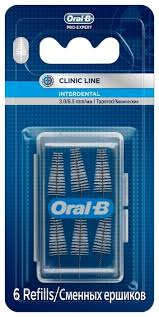 Набор съемных <b>ершиков</b> Oral-B <b>Interdental конические</b> — купить ...