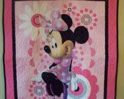 Minnie mouse panel   Etsy & Baby quilt of MInnie Mouse panel has been machined quilted. Size is 36 Adamdwight.com