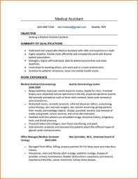 Medical Administrative Assistant Resume Objective With