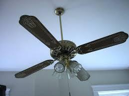 artistic painted ceiling fan blades designs ideas