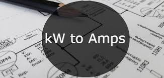 Motor Full Load Amps Chart Kw To Amps Conversion Formula Chart Convert And