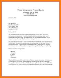Simple Business Letter Format Sample Business Letter Format Business Letter Format Sample Business