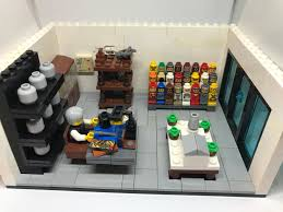 lego office. Dr. Robert Fords Office, A Westworld MOC Lego Office
