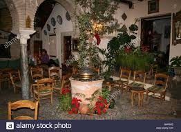 Indoor Patio cordoba andalucia spain indoor patio of moroccan style tea 2472 by xevi.us