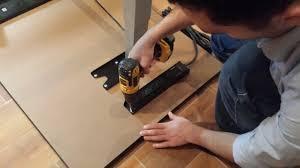 install surge protector power strip under desk desk mount power