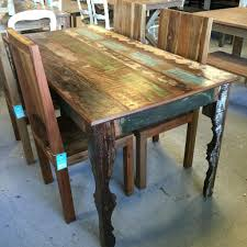 reclaimed wood table top 30 round only nyc