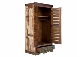 Schlafzimmerschrank Holz Massiv Kleiderschrank Sheesham Holz