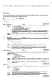 Brunner Suddarth 12 Edition Test Bank Test Bank For Brunner And Suddarth S Textbook Of Medical