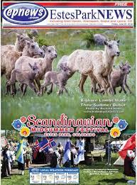 Estes Park News, June 22, 2018 By Estes Park News, Inc - Issuu
