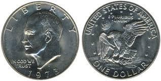 1972 Eisenhower Silver Dollar Value Chart Eisenhower Dollars 1971 1978 Complete Coin Guide
