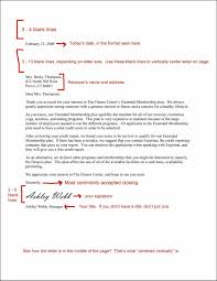 Template Sample Letter Template For Business Letter Formate