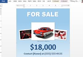 Sales Flyers Template How To Make A For Sale Flyer In Word