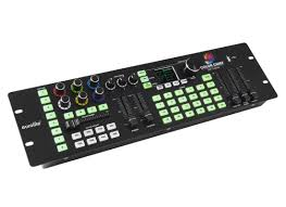 Sound To Light Controller Eurolite Dmx Led Color Chief Controller 8 Fixtures Dmx 512 Xlr 3pin Sound To Light Incl Extern Pow Sup