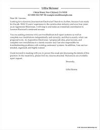 Amazing Electrician Helper Cover Letter For Your Cover Letter For