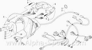 arctic cat z370 wiring diagram arctic wiring diagrams