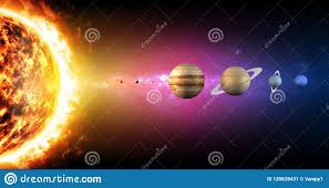 Planet Diameter Chart Solar System Planets Diameter Sizes Ratio Of Magnitudes