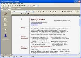 Best Resume Maker Software Resume Maker Software Best Of Best