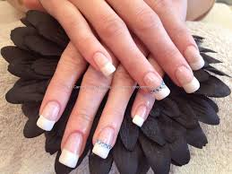 French polish nail designs - how you can do it at home. Pictures ...