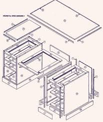 office desk plan. Roll Top Desk Plans Woodworking Office Plan S