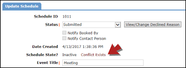 Schedule Conflict How To Resolve Conflicts