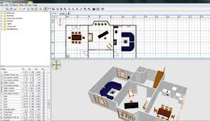 floor plan 3d. Free Floor Plan Software Sweethome3D Review Ground 2D 3D Split Screen 3d