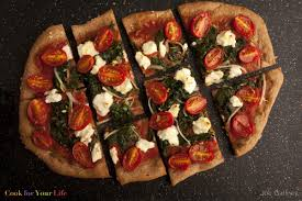 How To Cook A Pizza Goat Cheese Onion Spinach Lemon Pizza Cook For Your Life