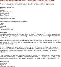 resume cover letter for mechanic   resumecareerobjective com    resume cover letter for mechanic motorcycle mechanic cover letter   templates  resume  cover letter