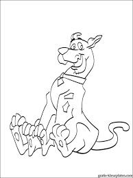 Hond Scooby Doo Kleurplaat Gratis Kleurplaten