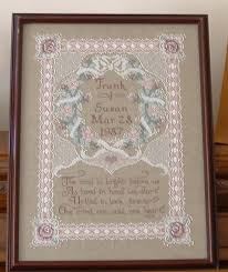 Wedding Samplers Cross Stitch Patterns