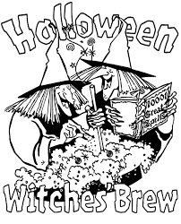 Small Picture Halloween Witches Coloring Kids Coloring Coloring Pages