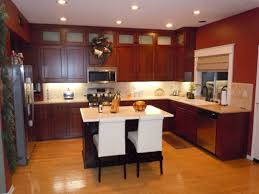 Light Oak Kitchen Chairs Kitchen Paint Colors With Cherry Oak Cabinets And White