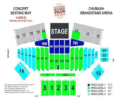 Fresno Fair Concert Seating Chart Cardi B Ticketswest