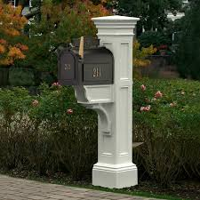 Decorative Mail Boxes Decorative Mailbox Post 100 By Mayne 56