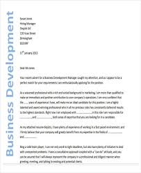 Cover Letters For Business Development Managers Term Paper
