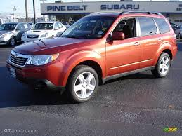 2010 subaru forester interior. subaru forester 2010 red interior