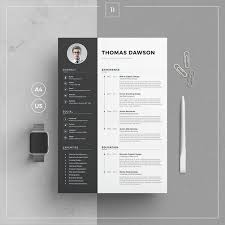 Modern Business Resume Template Modern Resume Template Cover Letter Business Card For Word Etsy