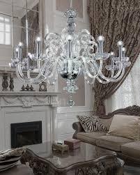125 ch 12 chrome crystal chandelier elizabeth chandeliers