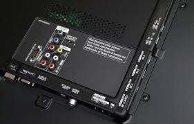 lg smart tv back panel. analog connectors such as the av in 2 (composite) and component jacks lg smart tv back panel n
