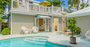 pool at a key west cottage