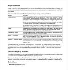 Instruction Manual Template Sample User Manual Template 12 Documents In Pdf