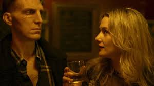 Adam tries to make friends with a local young woman Shelley (Addison Timlin) with deadly results.