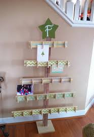 Christmas Card Display Stand 100 Christmas Card Display Ideas The Organised Housewife 19