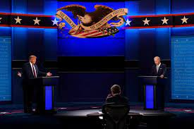 First debate between Trump, Biden marked by chaos, rancor as candidates  made it personal - The Boston Globe