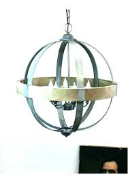 remarkable wood and metal chandelier distressed white orb rustic unforgettable recommendations unique wood and metal