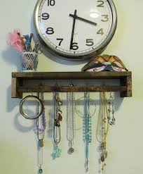 Jewelry Holder Wall 12 Diy Necklace Holder Ideas To Spark Your Imagination