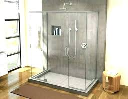 full size of to retile bathroom floor cost shower how a wall home improvement amusing