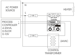 anacon power controls apcscr series power scr controller 8 wiring diagram 4 20ma 0 5v 0 10v inputs