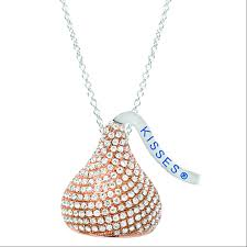 delectable hershey s kisses jewelry yum boomer style inside kiss necklace