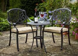 wrought iron garden furniture. Interior Wrought Iron Garden Furniture Cast Table Round Metallic